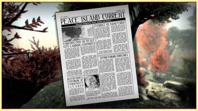 Peace Island Demo by Eric Blumrich — Kickstarter