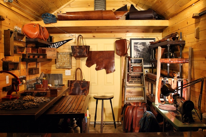 The Black Bear Leather Shop in Lancaster Tourist Country (aka: Intercourse, Pa)