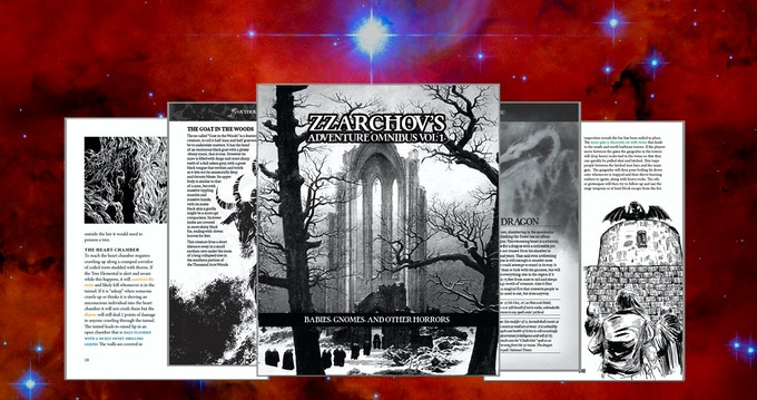Zzarchov's Adventure Omnibus Vol 1
