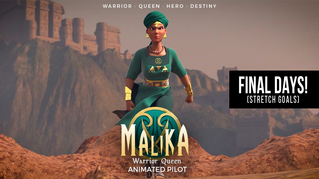 Malika Animated Series (Episode One/Pilot) project video thumbnail