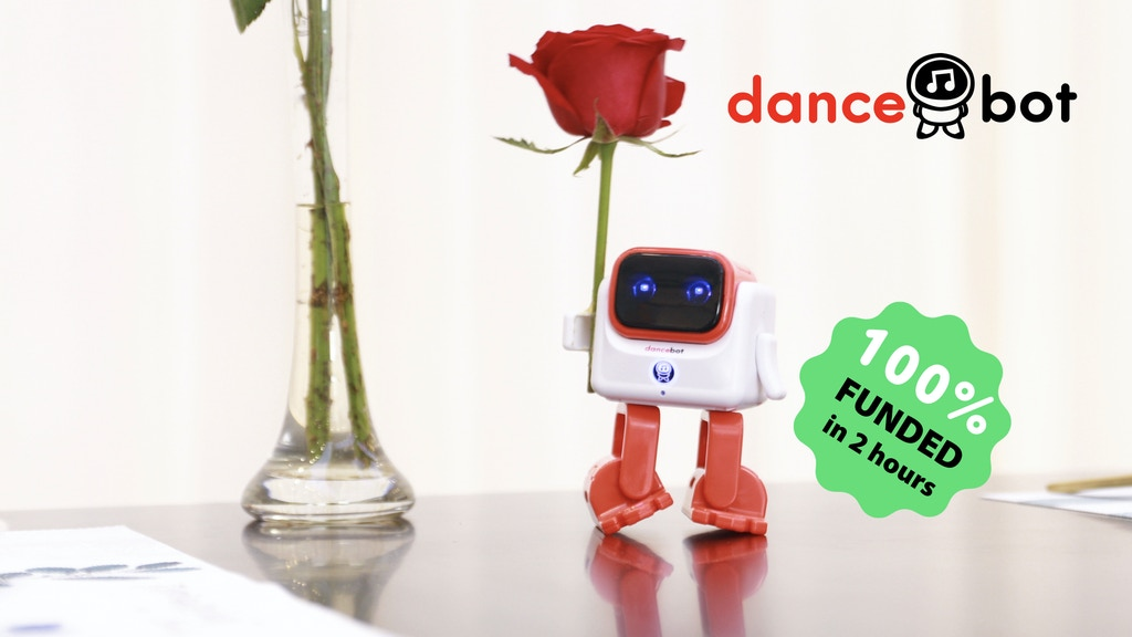 Dancebot, the world's first smart dancing robot speaker Project-Video-Thumbnail