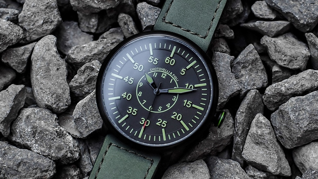 Reinventing Pilot Watches - Chotovelli & Figli