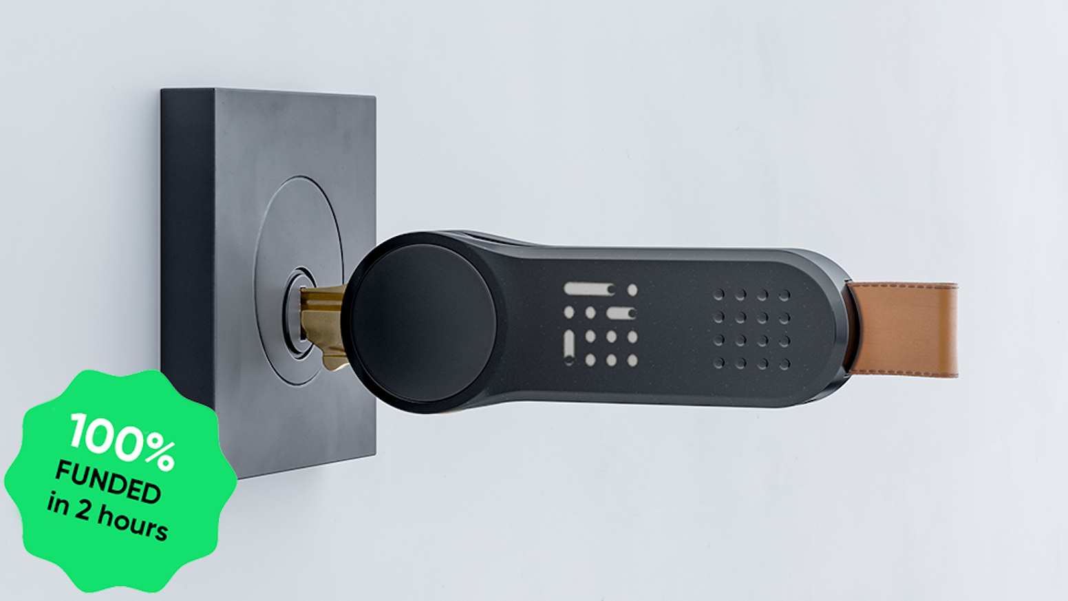Smart locks features with no door modifications | Easy to install | Fits 90% of keys