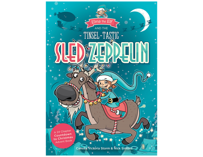Elma the Elf and the Tinsel-Tastic Sled Zeppelin Book Cover