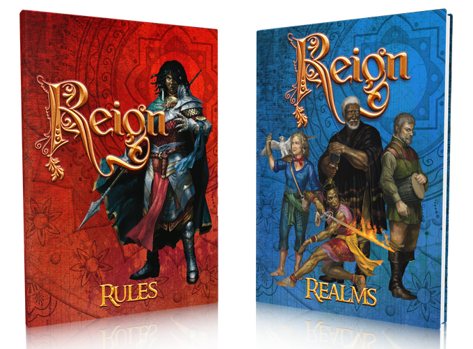 Greg Stolze's Reign, Second Edition by Hal Mangold / Atomic Overmind