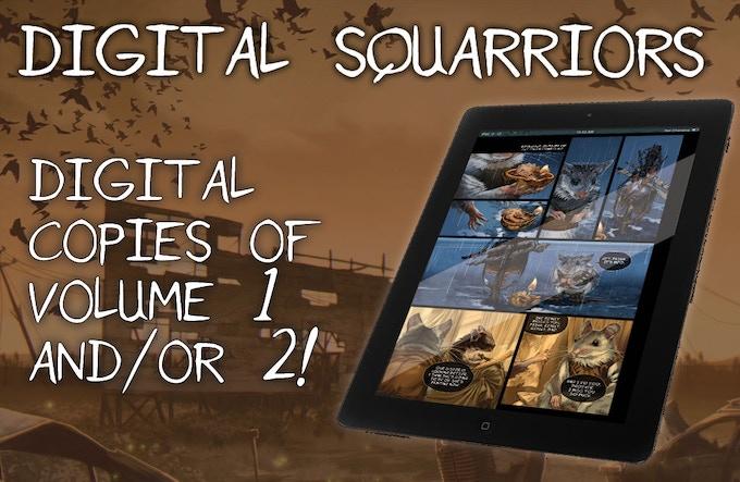 Squarriors Volume 2: Summer Digital Edition!