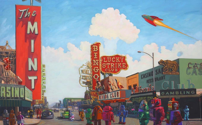 """Lucky Strike"" limited-edition print"