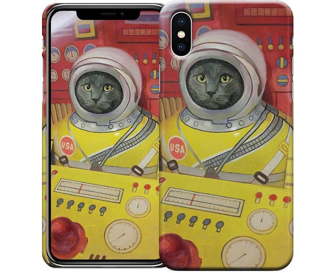 """""""All Systems Go"""" iPhone X case"""