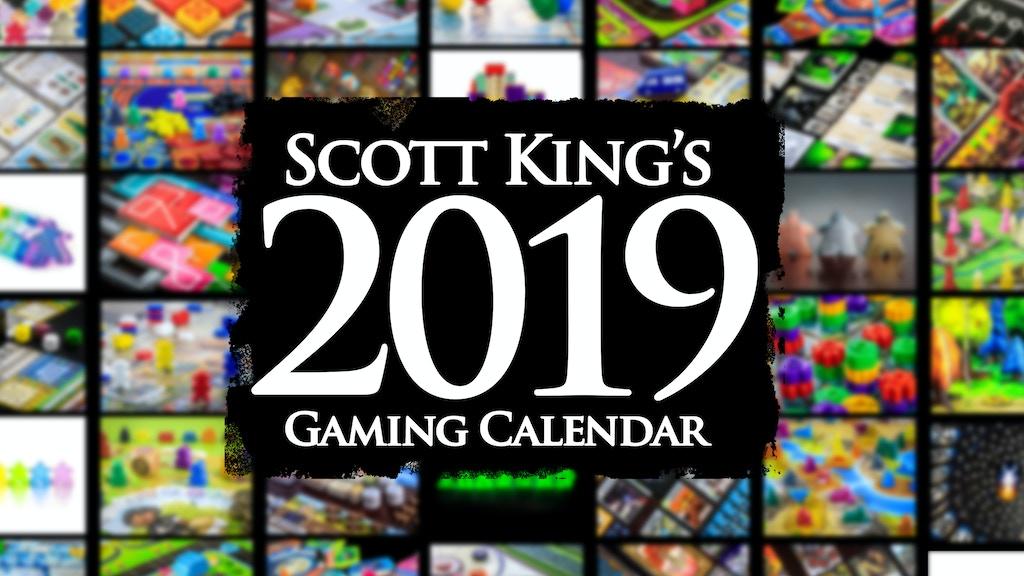 2019 Gaming Calendar project video thumbnail