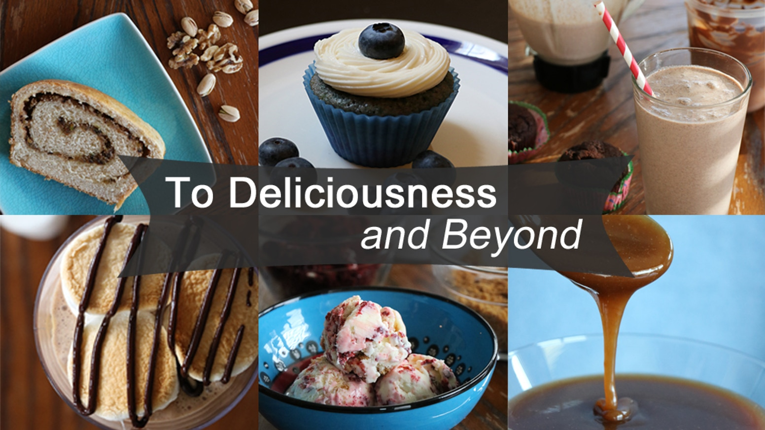 A cookbook filled with creative sweets and baked goods inspired by our travels around the world and family favorites.