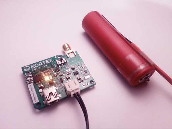 Kortex Xtend Lite and a LiOn battery
