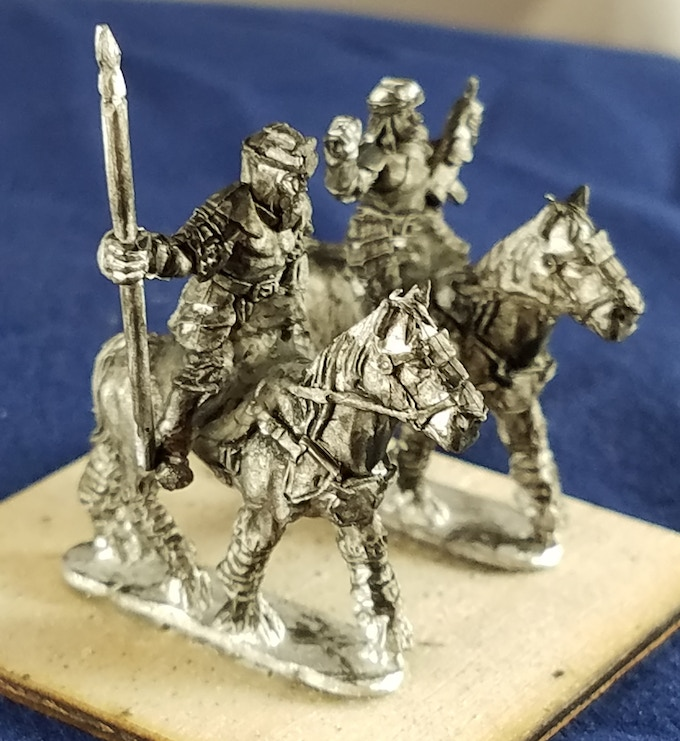 Samsut Light Cavalry Lancer and Railgunner