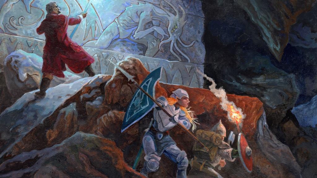 The Deep Dark RPG: Quickstarter project video thumbnail