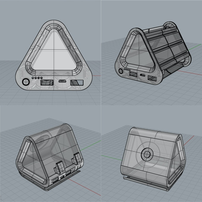 Images of case design prototypes