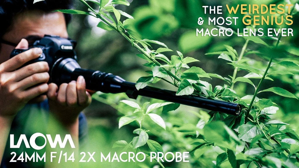 Revolutionize Macro Videography, Laowa 24mm f/14 Probe Lens project video thumbnail