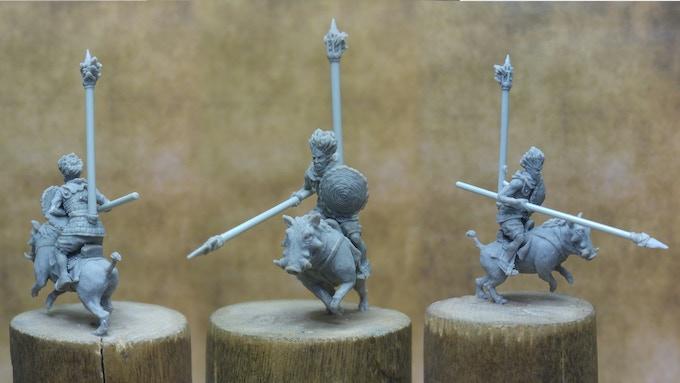 'Tryl Merchant Guard' (Rokar) Work In Progress Sculpt