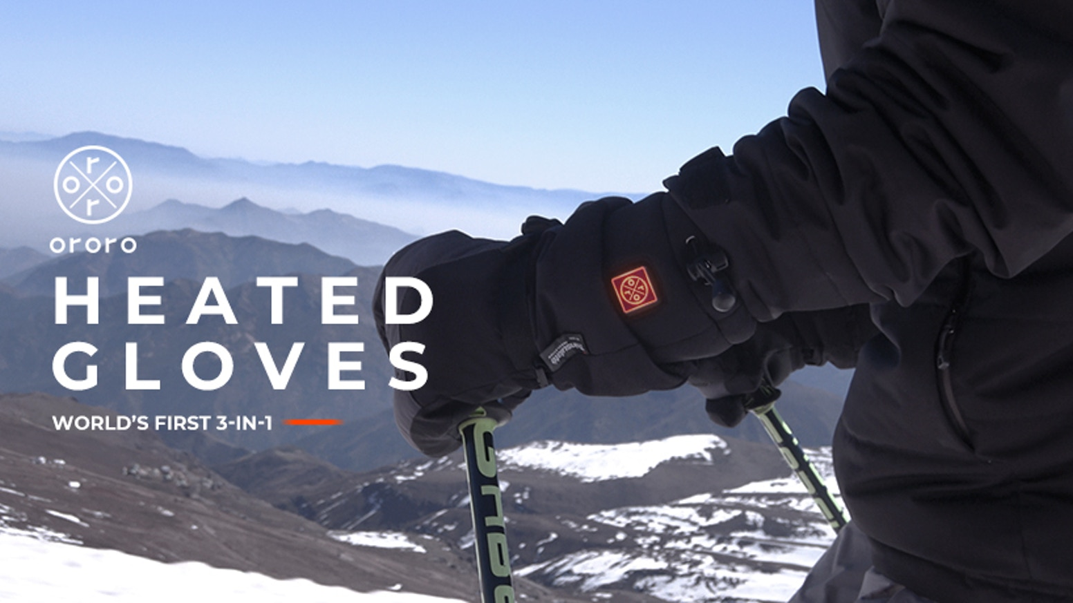 The most funded and versatile heated gloves for all weather conditions.