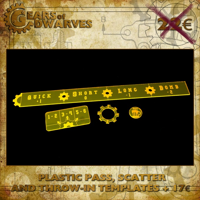 Plastic Pass, Scatter and Throw-in 17€