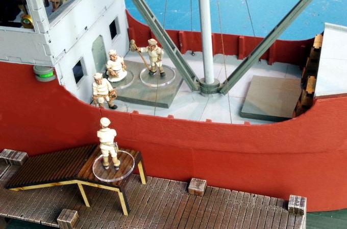 Navy Dits, Tramp Steamer 2 x Pier