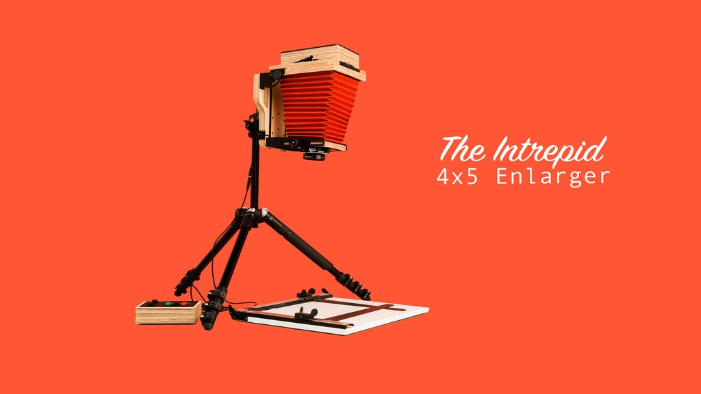 Intrepid 4x5 Enlarger - print & scan 35mm, 120 & 4x5 film by