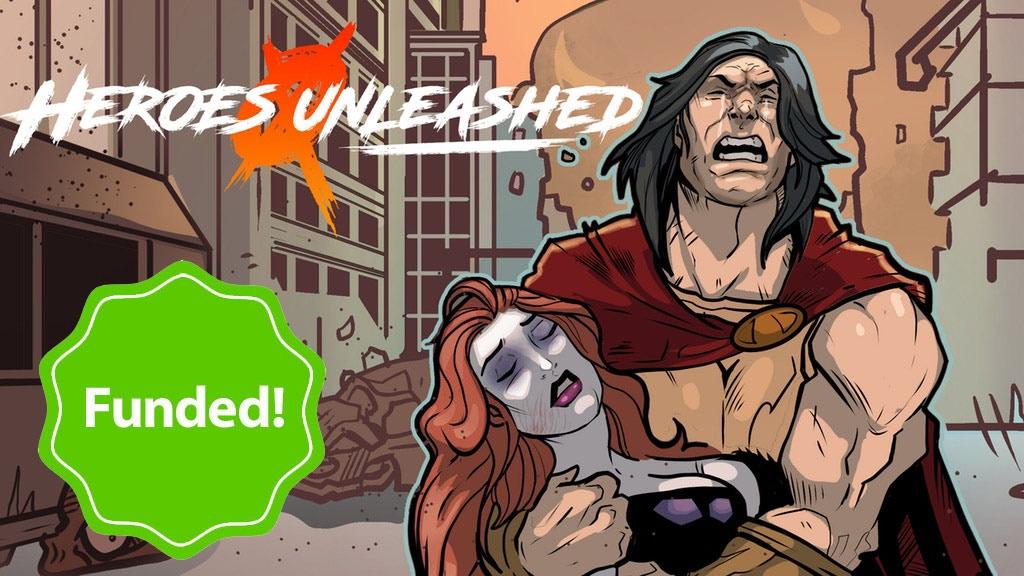 Heroes Unleashed Phase I - 5 authors, 5 superhero novels! project video thumbnail