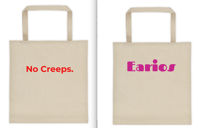 Limited Edition Earios totes!