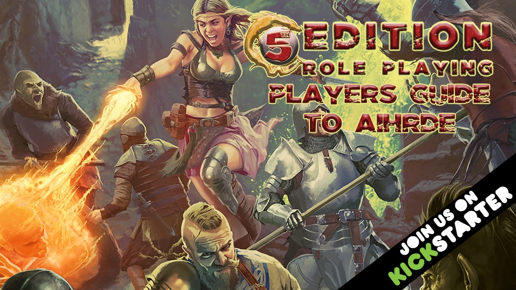 5th Edition Players Guide to Aihrde project video thumbnail