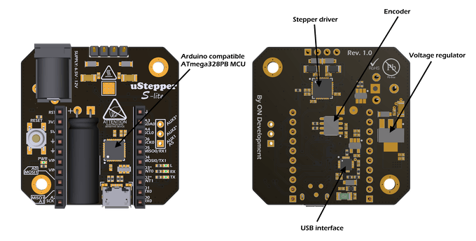 uStepper S line key components