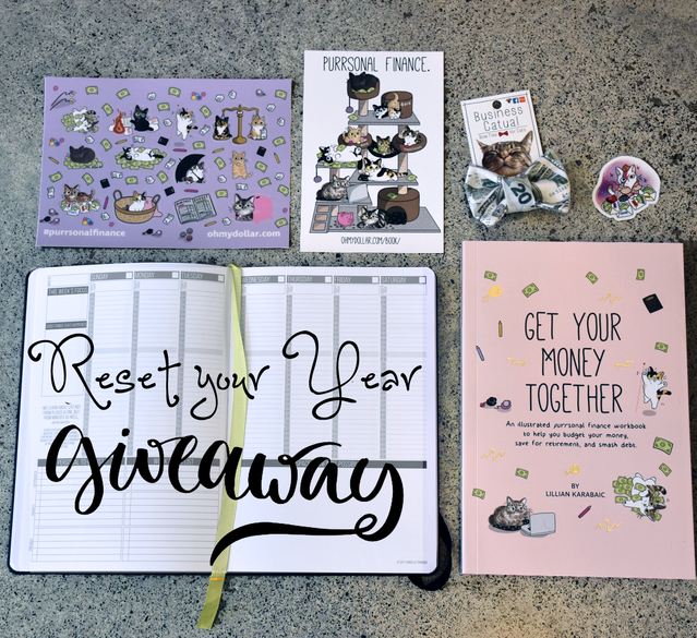 A passion planner, a year of rescuetime premium, a copy of the book and more!