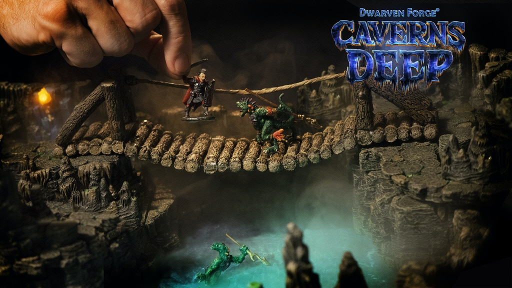 Caverns Deep! by Dwarven Forge: Handcrafted Game Terrain project video thumbnail
