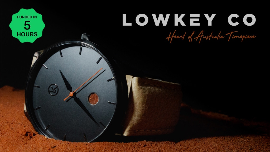 Heart of Australia Timepiece by Lowkey Co