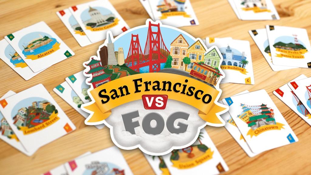 San Francisco VS Fog - Card Game project video thumbnail