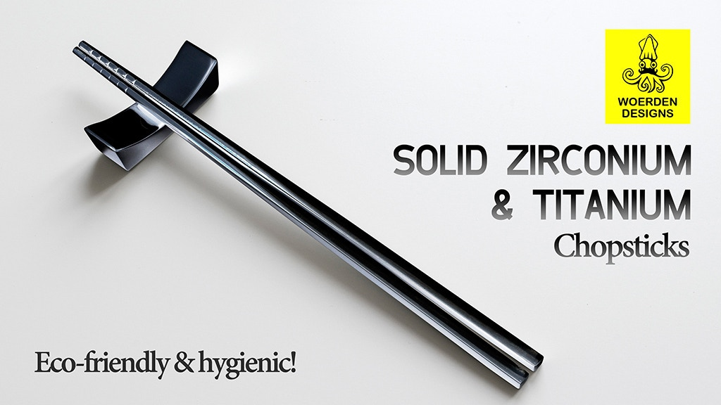 Zirconium & Titanium Chopsticks:eco-friendly & hygienic! project video thumbnail