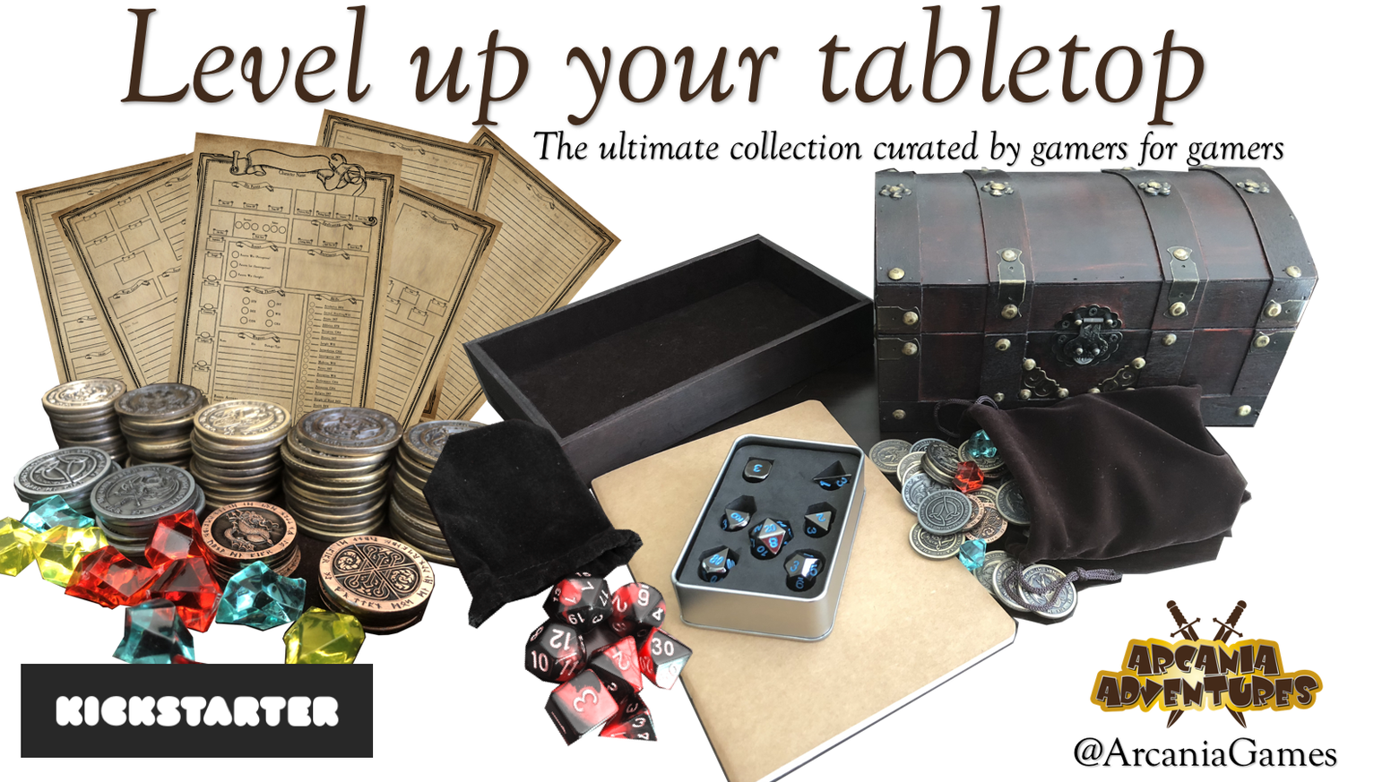 The ultimate curated collection of roleplaying accessories for your tabletop - by gamers for gamers