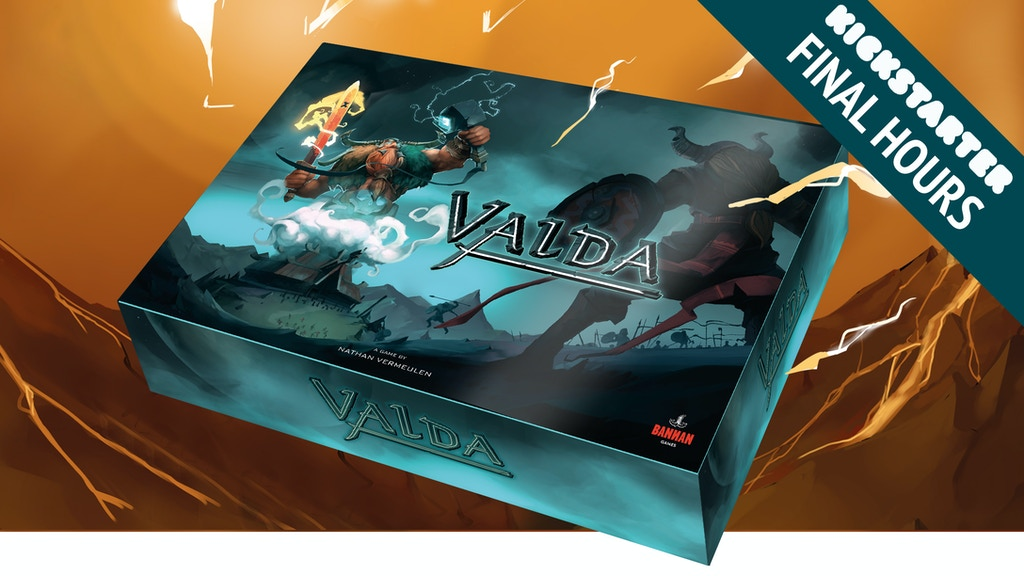 Valda — race to the gods — a boardgame by Nathan Vermeulen project video thumbnail