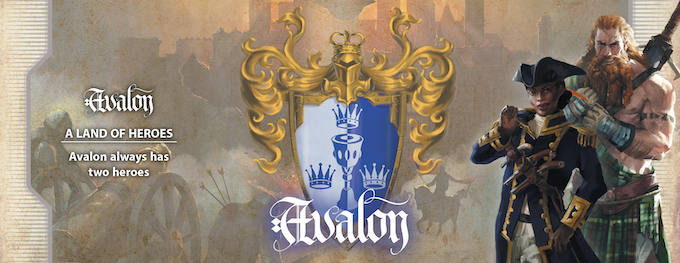 Green and enchanted, Avalon boasts one of the most powerful fleets on the Seven Seas. Their Heroes are all driven by the incomparable power of Glamour. Because Avalon is the land of legends, they start with two Heroes rather than one.