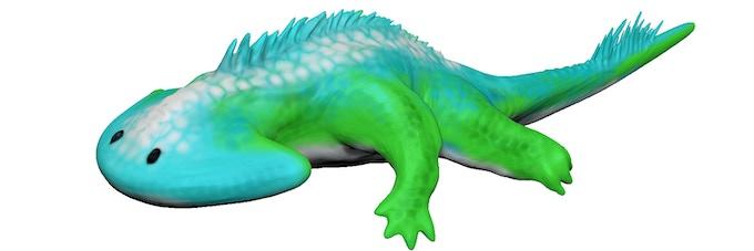 Diplocaulus 3Dmodel