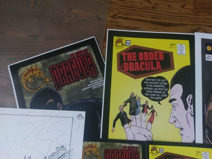 Order of Dracula art prints