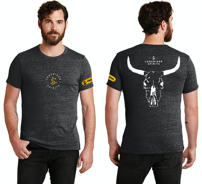 Lonerider Spirits Men's Black T-Shirt