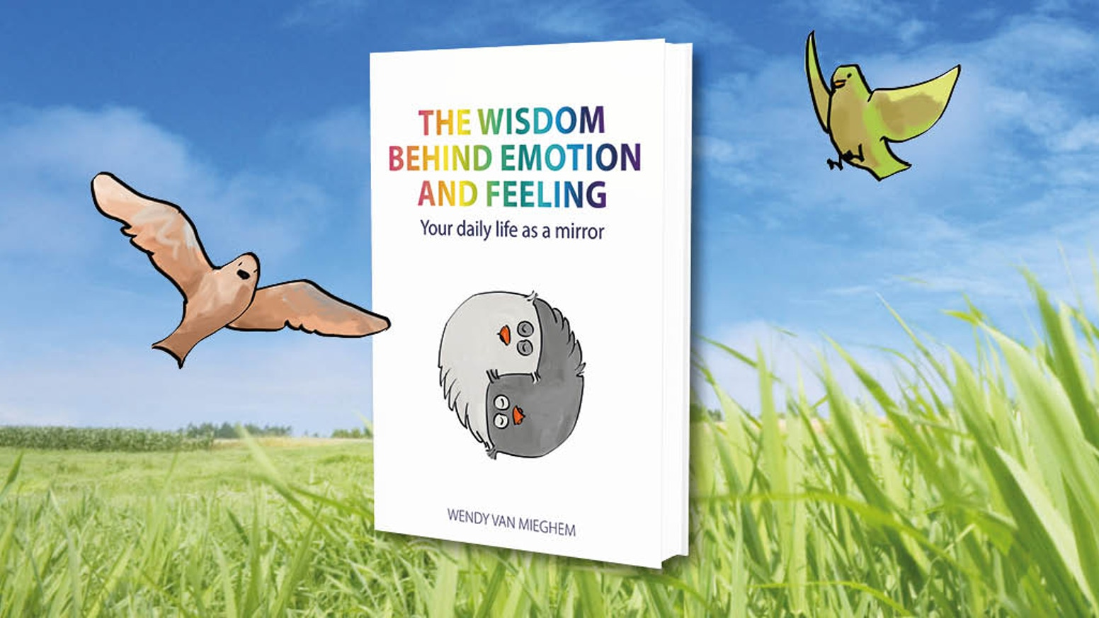 A conscious living manual that explains difficult human topics in a fresh and accessible way. Feel supported and inspired! (hardcover).