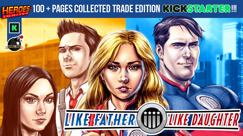Like Father, Like Daughter Collected Edition TPB project video thumbnail