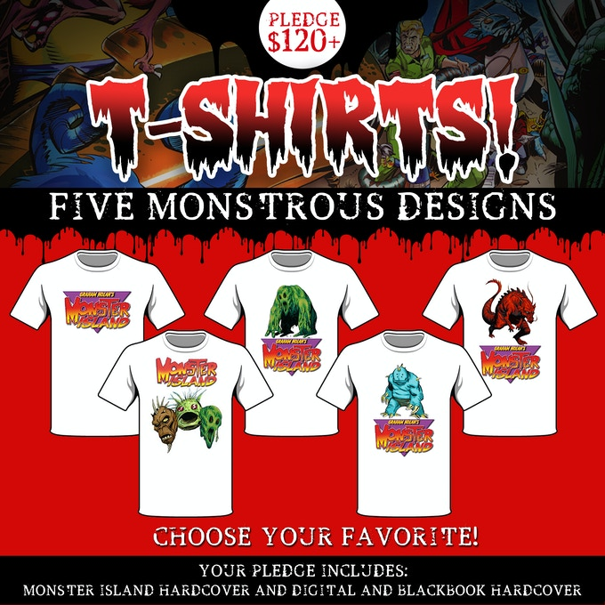 Monster Island T-shirts