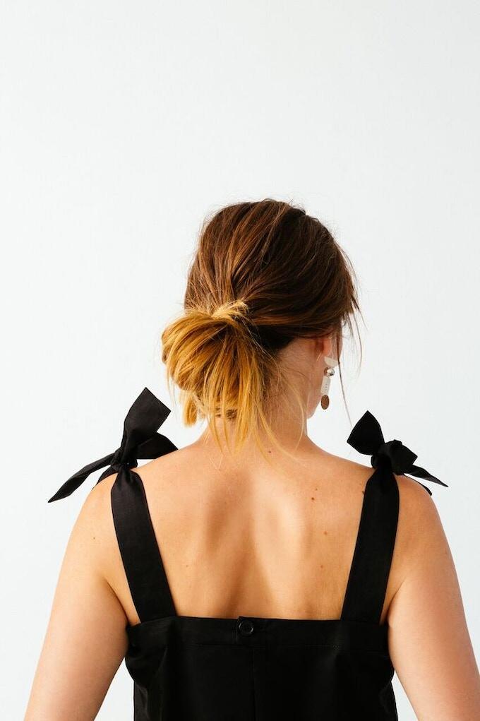 Ellice Ruiz | Emmalee wearing the Belen Top in Black