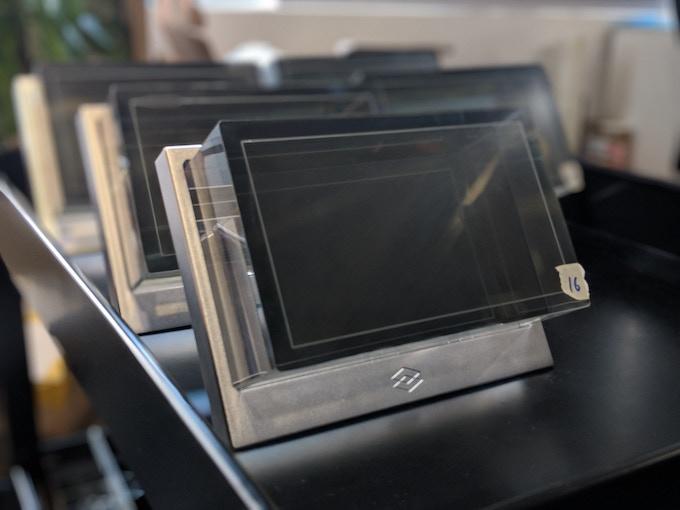 A batch of advance beta units ready for shipment.