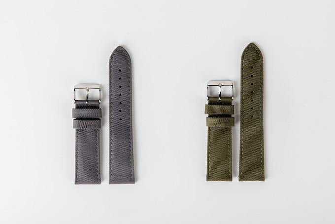 Nylon Canvas Field Watch Straps