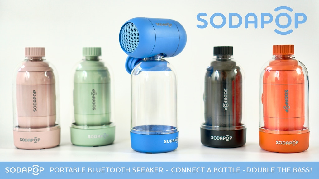 Sodapop | Portable Wireless Speaker | Bass. Reinvented. project video thumbnail