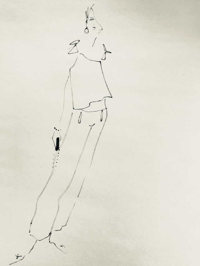 Ellice Ruiz | Limited edition fine art illustration by Jeanette Getrost
