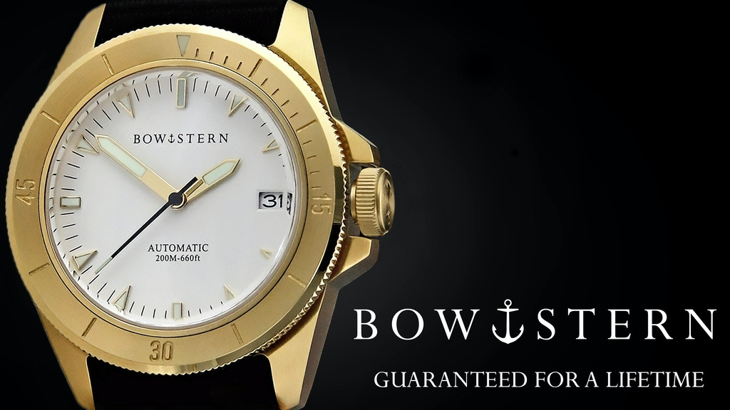 Limited Edition Automatic Watches, Guaranteed for a Lifetime project video thumbnail