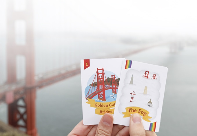 The Golden Gate Bridge's red color makes it more visible for ships during the fog.