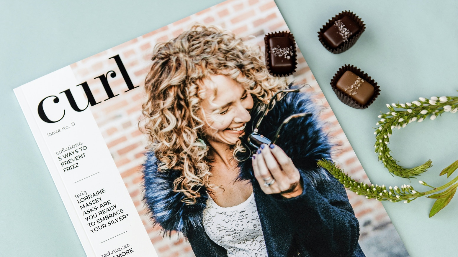A quarterly print & digital magazine teaching women all the tips and techniques they need to love their curls.